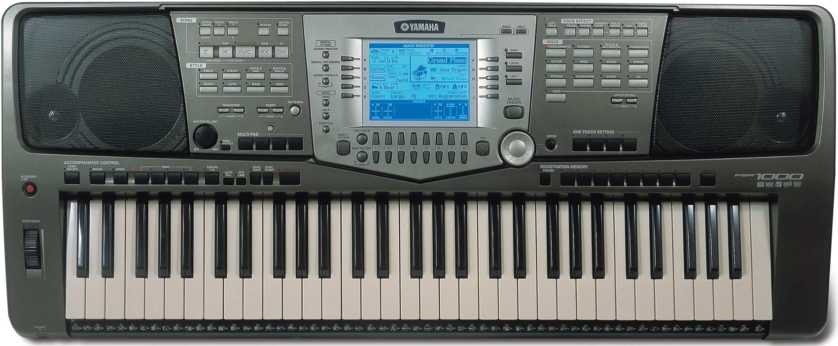 Virtual Yamaha Keyboard