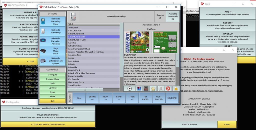 EmuLa the Emulator Launcher